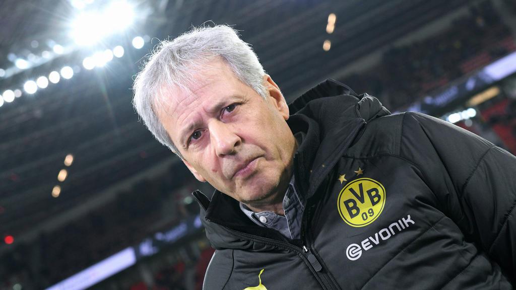 Die Spiele gegen Frankfurt und PSG sind für BVB-Coach Lucien Favre richtungsweisend