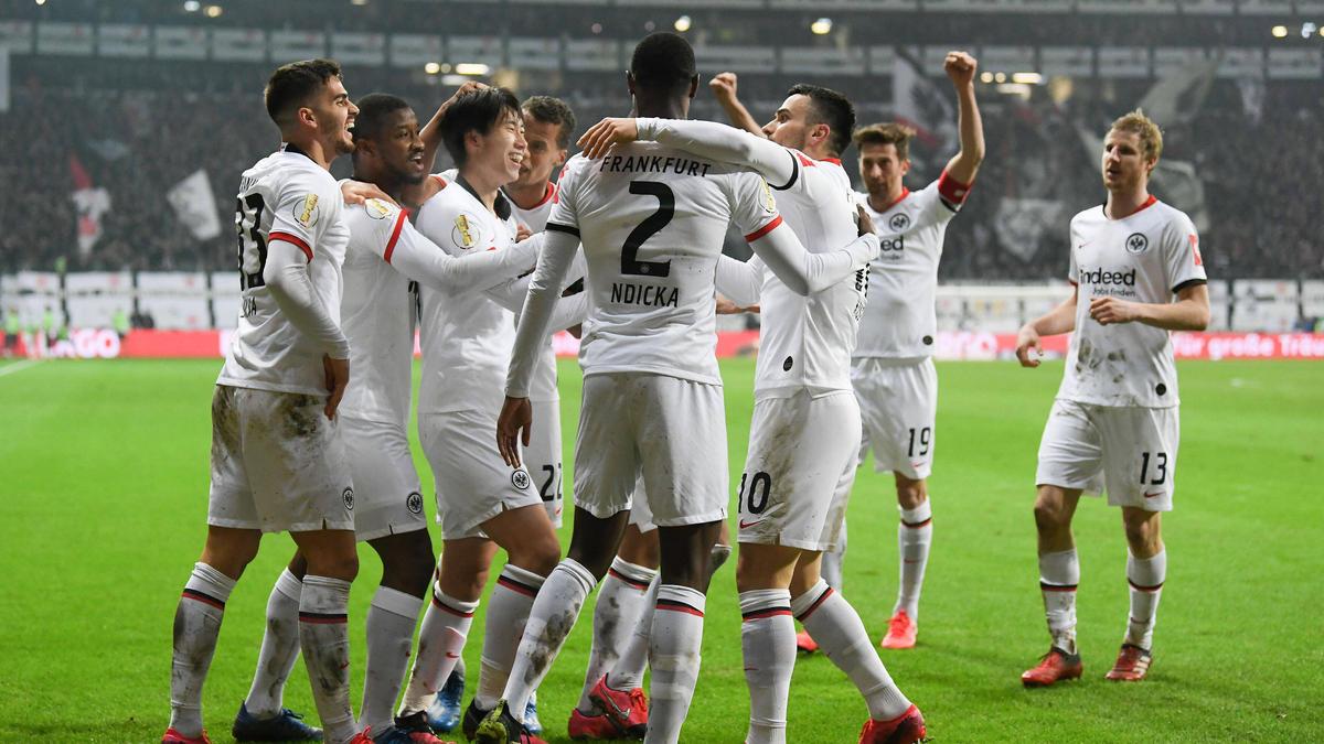 Eintracht Frankfurt setzte sich gegen Werder Bremen durch