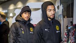 Geht es für Mo Dahoud und Jeremy Toljan (r.) 2020/21 beim BVB weiter?