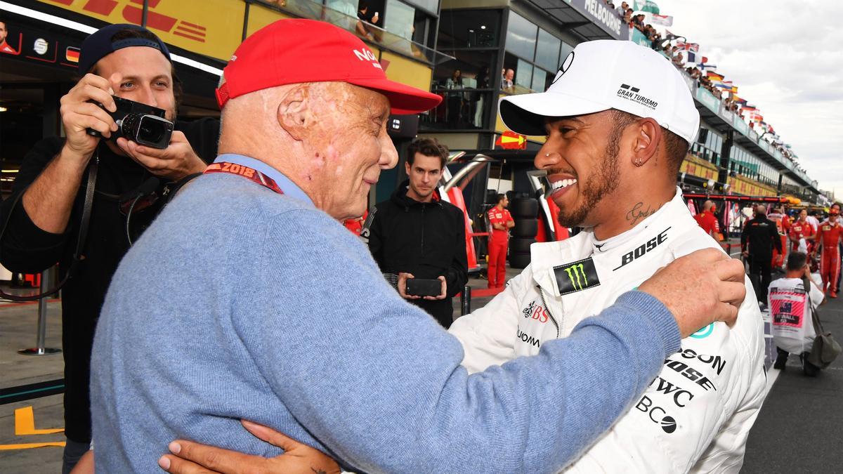 Niki Lauda und Lewis Hamilton verband weit mehr als ein berufliches Verhältnis
