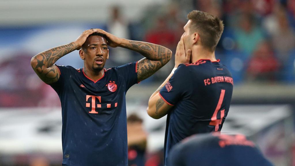 Jérôme Boateng (l.) und Niklas Süle stehen beim FC Bayern im Fokus