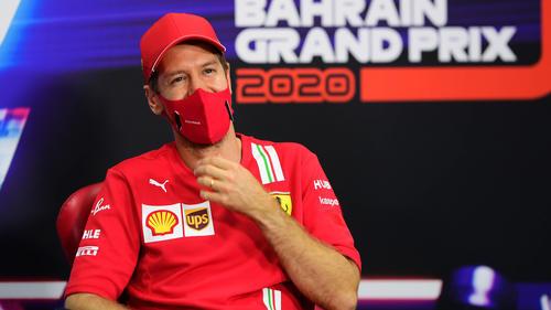 Sebastian Vettel weiß, dass die Chancen auf ein erneutes Podium gering sind