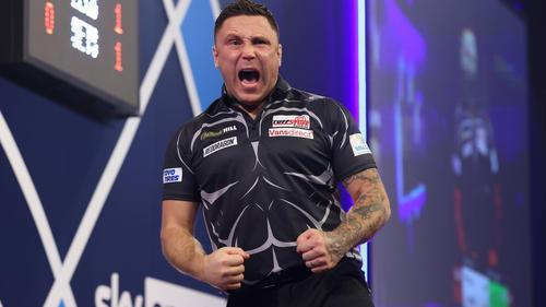 Gerwyn Price steht im Halbfinale der Darts-WM