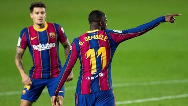 Ex-BVB-Star Ousmane Dembélé rettete dem FC Barcelona immerhin einen Punkt