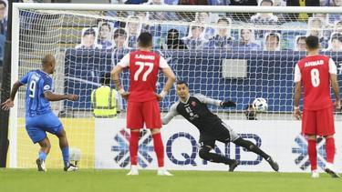 Junior Negrao (l.) erzielte beide Treffer für Ulsan Hyundai