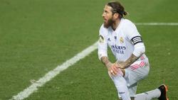 Sergio Ramos fehlt Real Madrid mehrere Wochen