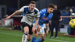 Gosens (l.) hat mit Bergamo weiter Chancen auf Finale
