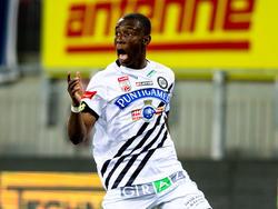 Kelvin Yeboah traf ausgerechnet gegen seinen Ex-Klub zum ersten Mal für Sturm Graz