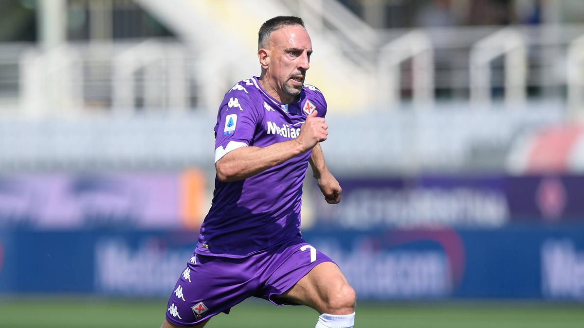 Franck Ribéry verließ den FC Bayern im Sommer 2019