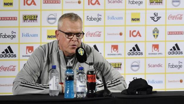 Muss wegen zweier Corona-Fällen improvisieren: Schweden-Coach Janne Andersson