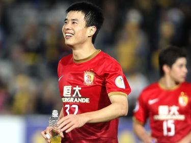 Xiang Sun ist im Team von Trainer Marcello Lippi in der Innenverteidigung meist gesetzt