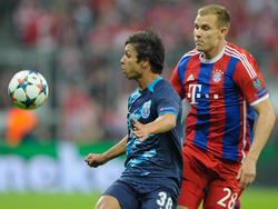 Badstuber (dcha.) no volverá a vestir la camiseta del Bayern hasta la próxima campaña por culpa de un desgarro en el muslo izquierdo. (Foto: Getty)