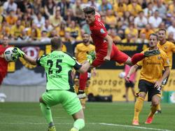 Marcel Sabitzer scorte nach fünfzehn Minuten das 1:0 für RB Leipzig