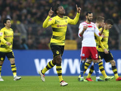 Michy Batshuayi erzielte seinen dritten Treffer im BVB-Dress im zweiten Spiel