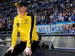 Peter Stöger könnte den Dortmunder Trainerstuhl für Julian Nagelsmann warmhalten