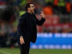 Eusebio Di Francesco und seine Mannschaft scheiterten im CL-Halbfinale an Liverpool