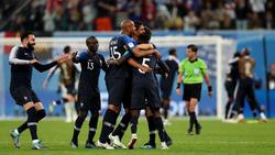 Frankreich zieht nach dem 1:0 gegen Belgien ins WM-Finale ein