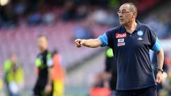 Maurizio Sarri trainiert ab sofort den FC Chelsea