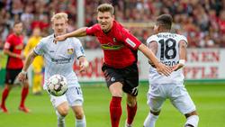 Die Leverkusener konnten den Ball nicht im Tor unterbringen
