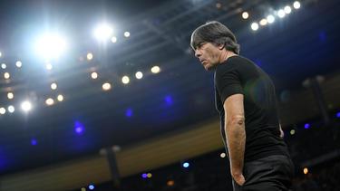 Joachim Löw sitzt wohl trotz der Niederlage gegen Frankreich fest im Sattel