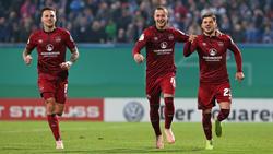 Sieg im Elfmeterkrimi - Nürnberg überwintert im Pokal