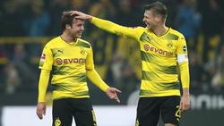 Mario Götze und Lukasz Piszczek fliegen mit dem BVB nach Madrid