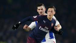 Mesut Özil konnte gegen Brighton nicht überzeugen
