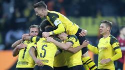 Der BVB hat sich gegen Hannover 96 keine Blöße gegeben