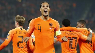 Holanda no tuvo problemas para comenzar con triunfo. (Foto: Getty)