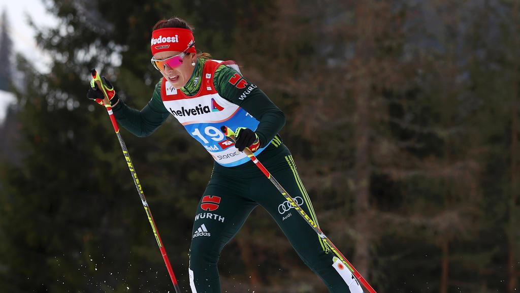 Katharina Hennig überzeugte über die 30 km