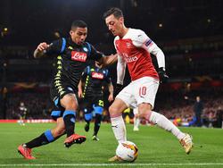 Özil gegen Napoli
