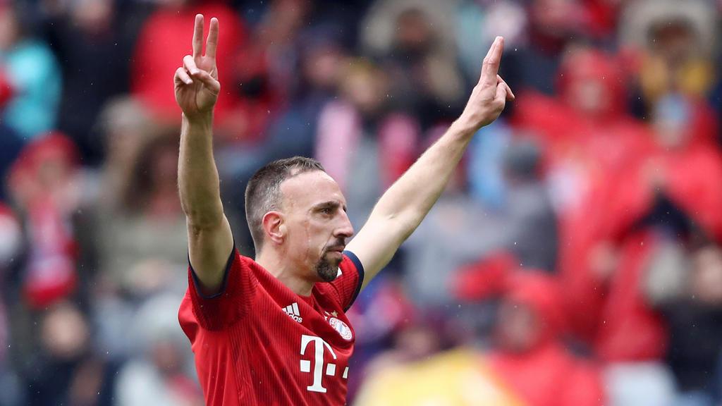 Franck Ribéry verabschiedet sich am Saisonende vom FC Bayern
