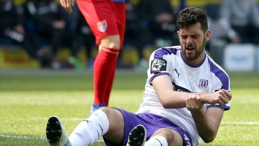 Wechselt zu den Würzburger Kickers: Luca Pfeiffer