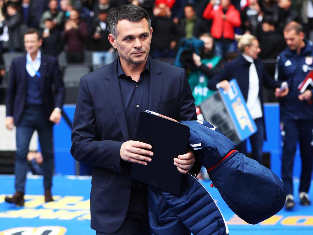 Konnte mit seiner Premiere als Bayern-Coach nicht zufrieden sein: Willy Sagnol