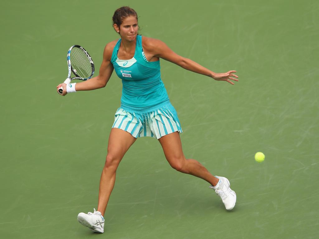 Julia Görges hat das Viertelfinale in Auckland erreicht