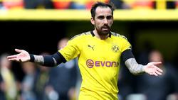 Paco Alcácer sitzt nicht gerne auf der Bank des BVB