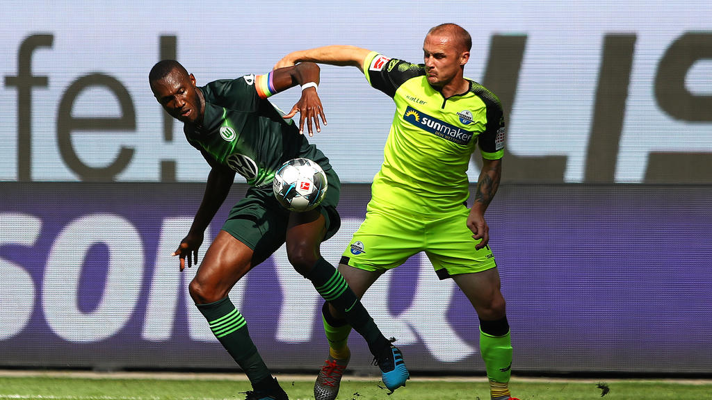 Der SC Paderborn und der VfL Wolfsburg teilen sich die Punkte