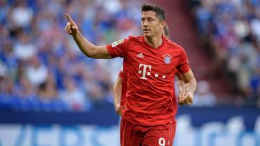 Lewandowski ha anotado los cinco tantos de su equipo esta temporada.