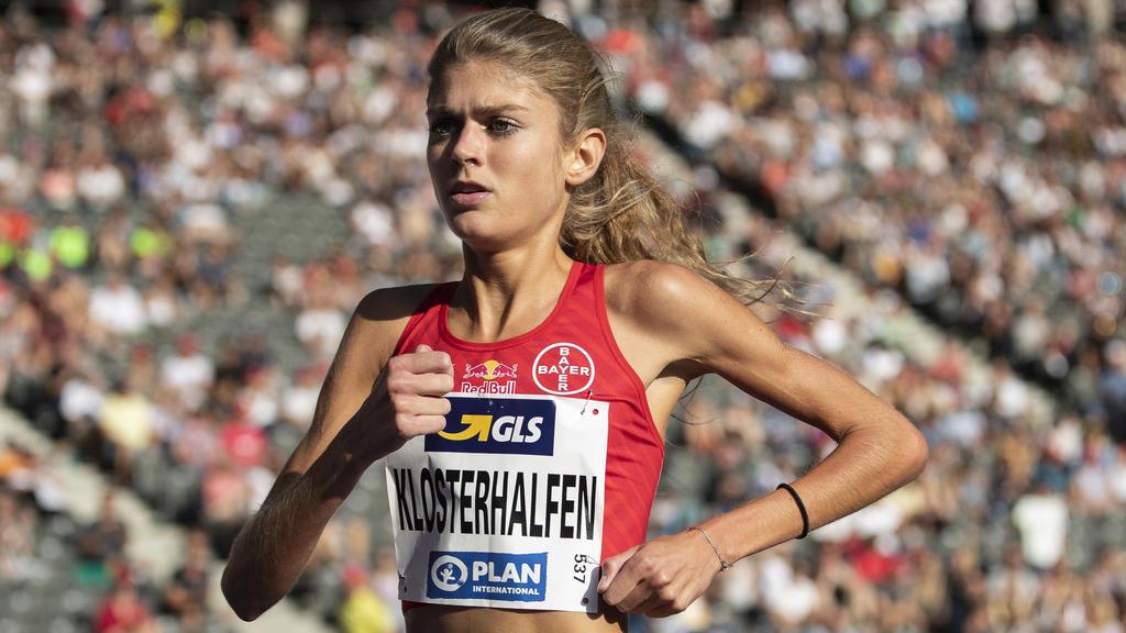 Zählt bei der WM zu den Topfavoritinnen über 1500 und 5000 Meter: Konstanze Klosterhalfen