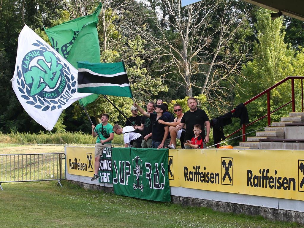 Zuletzt beehrten Wikinger aus Ried den Sportplatz Bruck (im ÖFB-Cup)