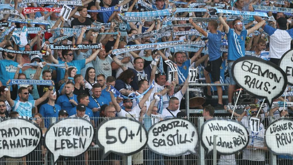 Thomas Sobotzik kritisiert die Fanszene des CFC