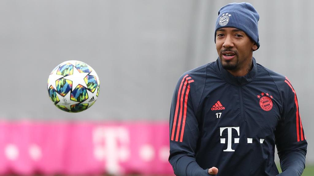 Jérôme Boateng sitzt beim FC Bayern noch eine Rotsperre ab