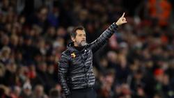 Nicht mehr Trainer des FC Watford: Quique Sánchez Flores