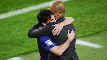 Arbeiten Pep Guardiola und Lionel Messi bald wieder zusammen?