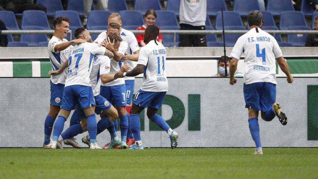 Hansa Rostock hat für eine Überraschung gesorgt