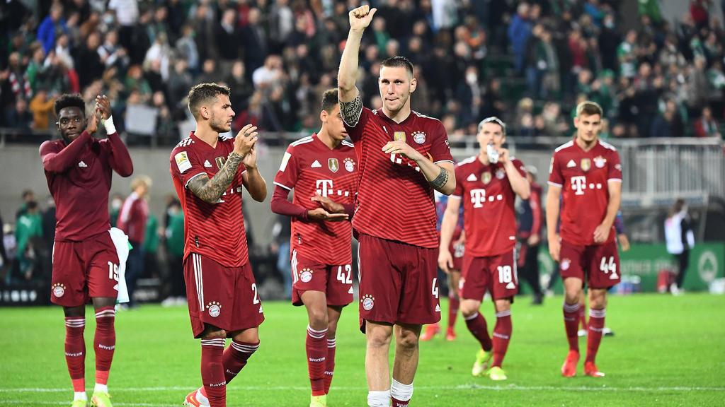 Der FC Bayern rangiert an der Tabellenspitze