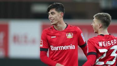Kai Havertz erzielte gegen den SC Paderborn einen Treffer
