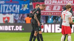 Kevin Vogt verletzte sich im Spiel gegen RB Leipzig