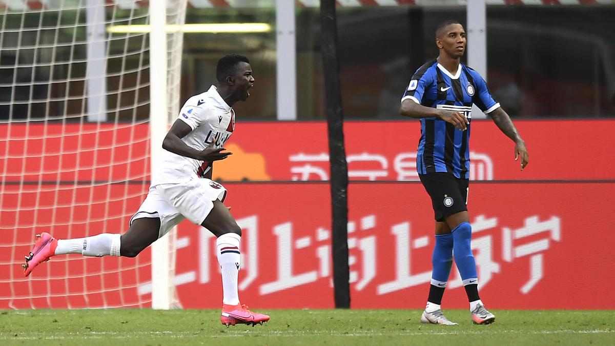 Inter verliert nach dem Tor von Barrow