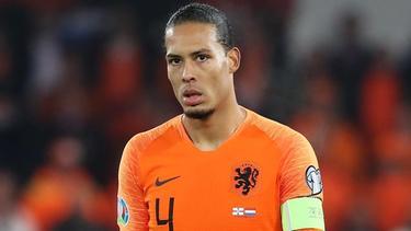 Unter anderem Oranje-Kapitän Virgil van Dijk kritisiert den TV-Sender Veronica